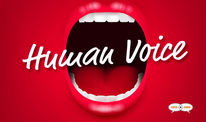human-voice