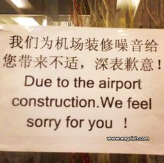 Translation fail